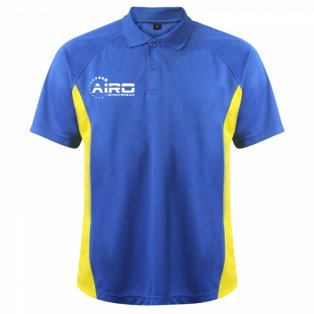 Airo Sportswear Matchday Polo Shirt (Royal-Yellow)