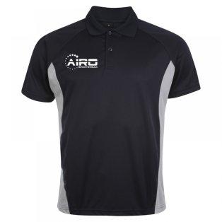 Airo Sportswear Matchday Polo Shirt (Navy-Silver)