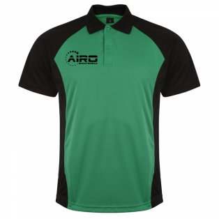 Airo Sportswear Matchday Polo Shirt (Green-Black)