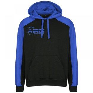 Airo Sportswear Pro Hoody (Black-Royal)