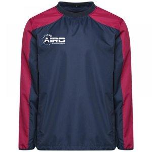 Airo Sportswear Pro Windbreaker (Navy-Maroon)