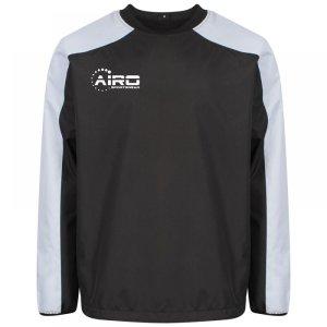 Airo Sportswear Pro Windbreaker (Black-Silver)
