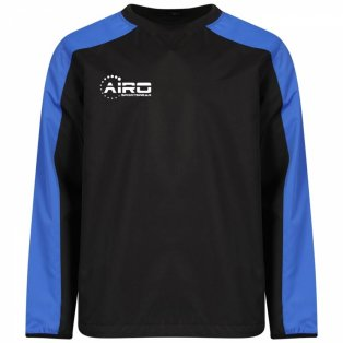 Airo Sportswear Pro Windbreaker (Black-Royal)