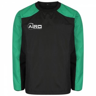 Airo Sportswear Pro Windbreaker (Black-Green)