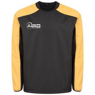 Airo Sportswear Pro Windbreaker (Black-Amber)