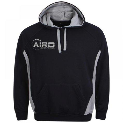 Airo Sportswear Team Hoody (Navy-Silver)