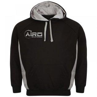 Airo Sportswear Team Hoody (Black-Silver)