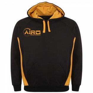 Airo Sportswear Team Hoody (Black-Amber)