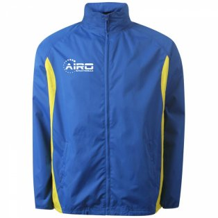 Airo Sportswear Tracksuit Top (Royal Yellow)