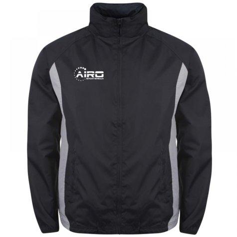 Airo Sportswear Tracksuit Top (Navy-Silver)