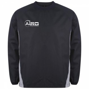 Airo Sportswear Team Windbreaker (Navy-Silver)
