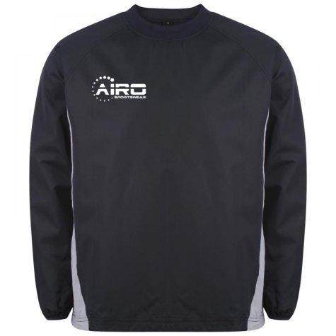 Airo Sportswear Team Windbreaker (Navy-Silver)