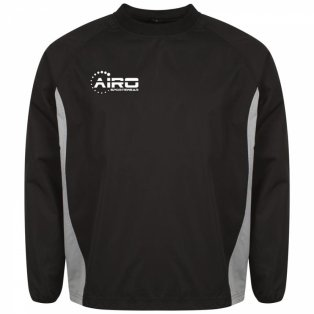 Airo Sportswear Team Windbreaker (Black-Silver)