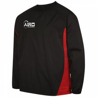 Airo Sportswear Team Windbreaker (Black-Red)