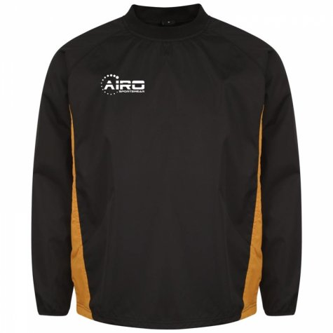 Airo Sportswear Team Windbreaker (Black-Amber)
