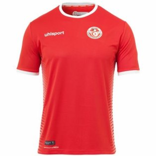 2018-2019 Tunisia Away Uhlsport Football Shirt
