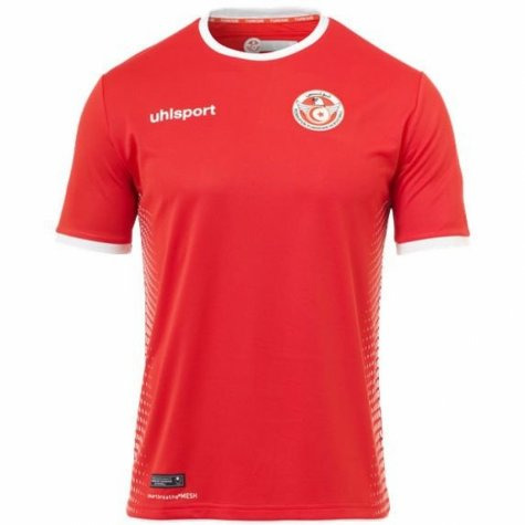 4e8257eb9 2018-2019 Tunisia Away Uhlsport Football Shirt  1003351021956 ...