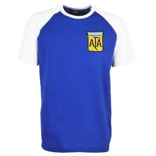 Argentina 2018 Raglan Away Retro Football Shirt