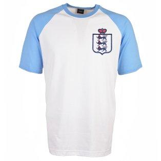 England 2018 Raglan Home Retro Football Shirt