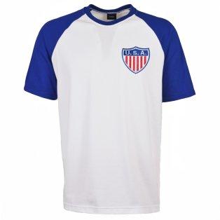 USA 2018 Raglan Retro Football Shirt