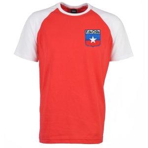 Chile 2018 Raglan Retro Football Shirt