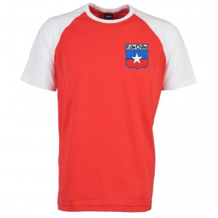 Chile 2018 Raglan Retro Football Shirt