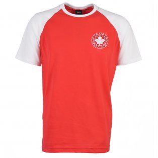 Canada 2018 Raglan Retro Football Shirt