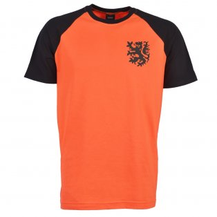 Holland 2018 Raglan Retro Football Shirt