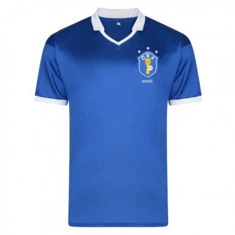 Score Draw Brazil 1986 World Cup Finals Away Shirt