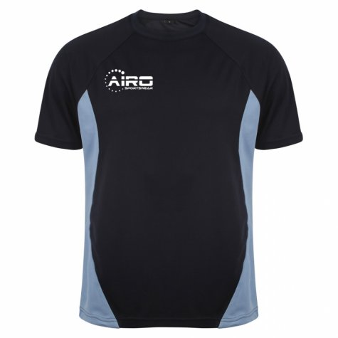 Airo Sportswear Player Training Tee (Navy-Sky Blue)