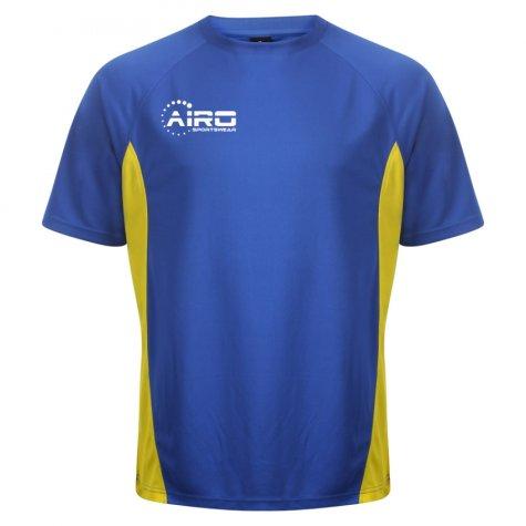 Airo Sportswear Player Training Tee (Royal-Yellow)
