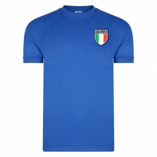 Score Draw Italy 1970 World Cup Final Shirt