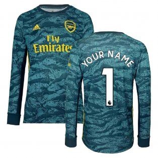 2019-2020 Arsenal Adidas Home Goalkeeper Shirt (Your Name)