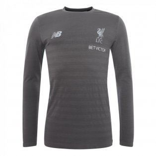 2018-2019 Liverpool Long Sleeve Shirt (Grey)