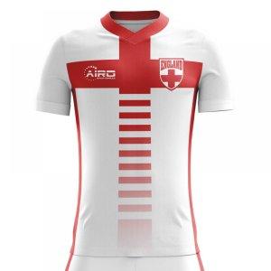 2020-2021 England Home Concept Football Shirt - Adult Long Sleeve