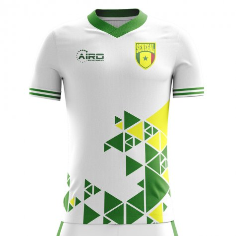 63587102a 2018-2019 Senegal Home Concept Football Shirt (Kids)  SENEGALHKIDS ...