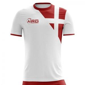 2018-2019 Denmark Away Concept Football Shirt - Womens