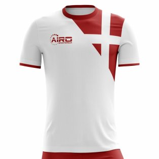 2018-2019 Denmark Away Concept Football Shirt eea781ad9