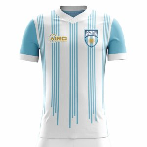 2020-2021 Argentina Home Concept Football Shirt - Little Boys