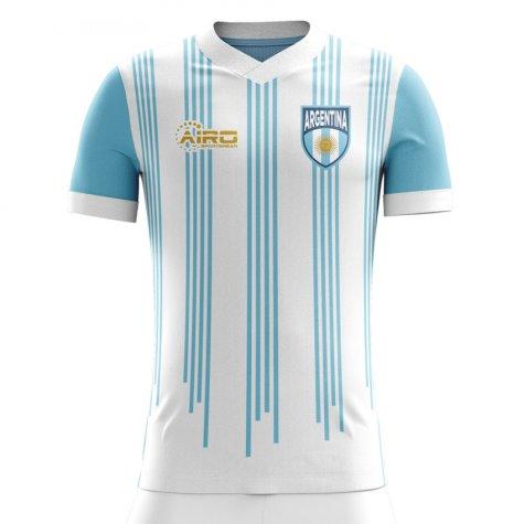 2020-2021 Argentina Home Concept Football Shirt (Kids)