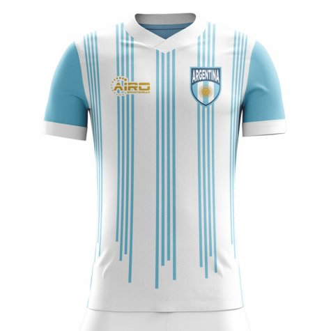 f9c84cdda162 2018-2019 Argentina Home Concept Football Shirt (Kids ...