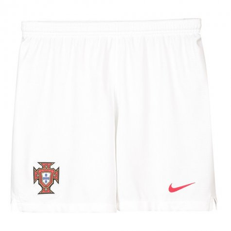 2018-2019 Portugal Nike Away Shorts (White) - Kids