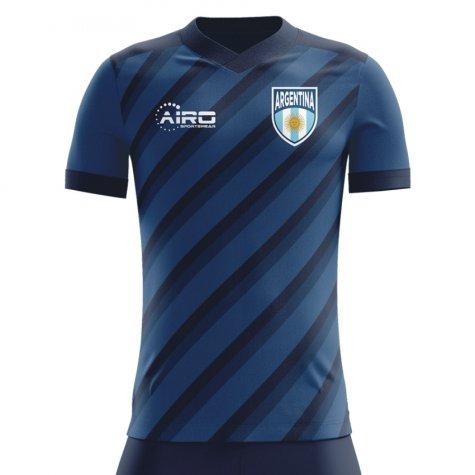 2018-2019 Argentina Away Concept Football Shirt