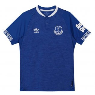 2018-2019 Everton Umbro Home Football Shirt (Kids)