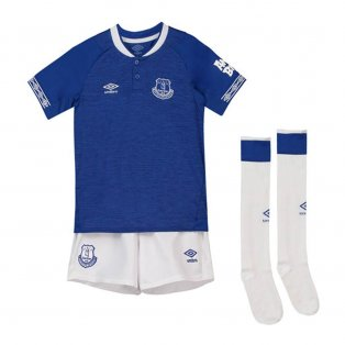 2018-2019 Everton Umbro Home Mini Kit