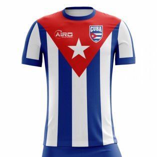 2020-2021 Cuba Home Concept Football Shirt - Womens
