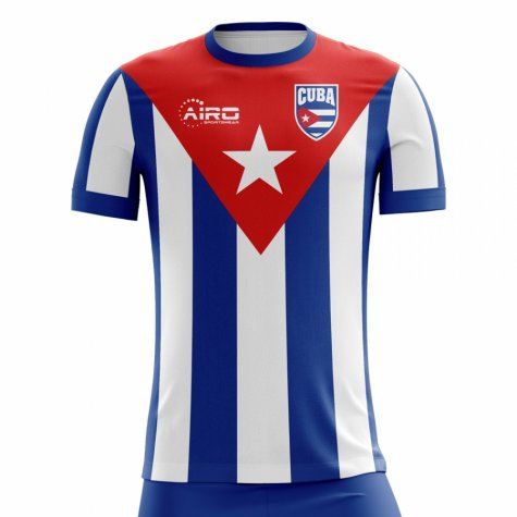 2018-2019 Cuba Home Concept Football Shirt (Kids)