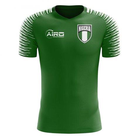 2020-2021 Nigeria Home Concept Football Shirt