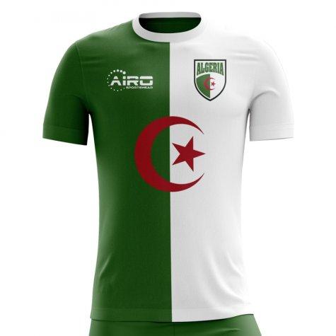 2018-2019 Algeria Home Concept Football Shirt (Kids)