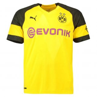 2018-2019 Borussia Dortmund Puma Home Football Shirt